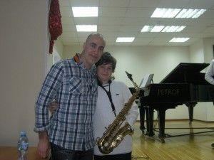 Конкурс саксофонистов