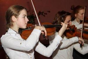 Победа глиэровских скрипачек в Дубне
