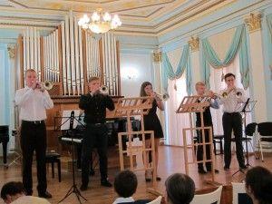 Глиэровцы на мастер-классе в Москве