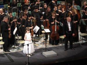Глиэровцы играют с симфоническим оркестром