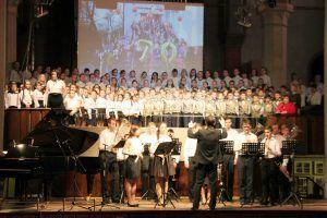 Юбилейный концерт школы