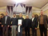 Глиэровец стал Лауреатом международного конкурса