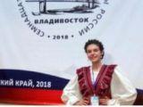 Золотую медаль Дельфийских игр завоевала ученица ДМШ им. Р.М. Глиэра!