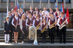Духовой оркестр школы выступил на инаугурации мэра Калининграда
