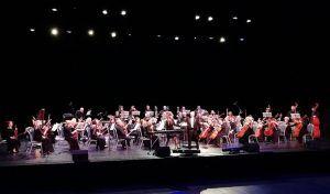 Мария Васильева выступила с симфоническим оркестром