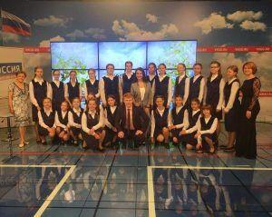 Хор «Радость» на передаче «Доброе утро, Калининград!»