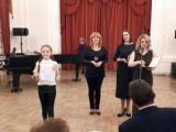 Глиэровцы-вокалисты успешно выступили в Петербурге