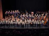 Глиэровцы выступили вместе с именитыми музыкантами